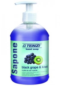 TENZI Sapone Black Grape & Kiwi 0.5 L - Mydło do rąk w płynie